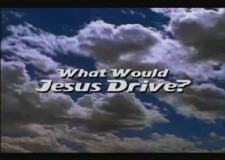 Directed by Martin Herring, 'What would Jesus Drive?' takes a look at American Car culture and the dependence on oil, and was shown as part of a C4 season of films on Climate Change.